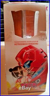 NEW SEALED Takara Transformers Hot Rod Rodimus Japanese withSyaoSyao (VERY RARE)