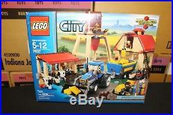 NEW Sealed Box! LEGO 7637 City Farm RARE Retired. FREE Priority Mail