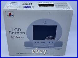 NEW Sony PS one LCD Screen Rare PS1 Portable Monitor SCPH-131 FACTORY SEALED