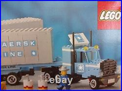 NIB SEALED Lego 1552 Maersk Line Container Truck Set 1985 Retired Rare Promo