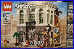 New LEGO 10251 Creator Expert Brick Bank Set Retired Factory Sealed Box Rare