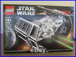 New Lego 10175 Star Wars (Vaders Tie Advanced) Sealed Box Rare Set