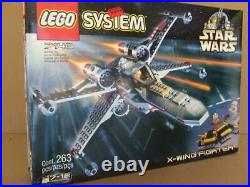 New Lego 7140 Star Wars X Wing Fighter Sealed Set (Box has Damage) Rare