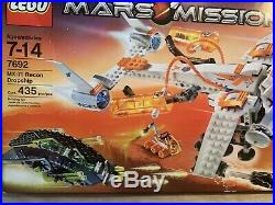 New! Lego Space Mars Mission MX-71 Recon Dropship Rover 7692 Retired Sealed Rare