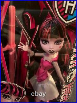 New RARE Monster High Draculaura First Wave Doll In Box Sealed 2014