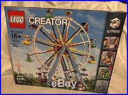 New! Sealed LEGO 10247 Creator Expert Ferris Wheel Rare
