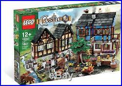 New Sealed Lego Castle 10193 Medieval Market Village Mint Discontinued Rare
