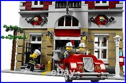 New and Sealed LEGO Creator Fire Brigade (10197) Retired and Rare