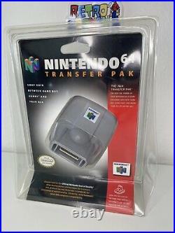 Nintendo N64 Transfer Pak Blister Controller Pack Brand New Sealed RARE