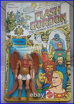 Original Vintage Flash Gordon Vultan Moc New Sealed Action Figure 1979 Very Rare