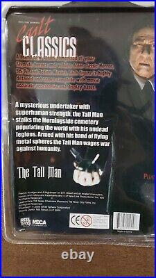 PHANTASM Tall Man Figure NECA Cult Classics NIB RARE Angus Scrimm 2005