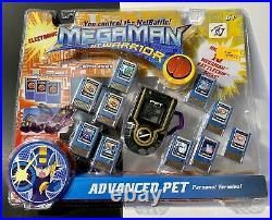 PURPLE (Rare) New Megaman NT Warrior Advanced Pet Electronic 2004 Sealed