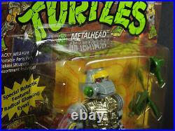 Playmates Teenage Mutant Ninja Turtles TMNT 1989 Metalhead MOC Sealed Rare