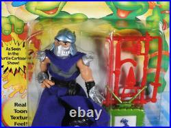 Playmates Teenage Mutant Ninja Turtles TMNT 1994 TOON SHREDDER Very Rare Sealed
