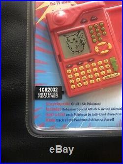 Pokemon POKEDEX 1999 Tiger Electronics RARE FACTORY SEALED