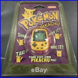 Pokemon Pikachu Virtual Pet Nintendo Official Original 1998 Sealed Rare