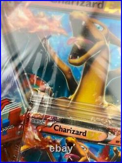 Pokemon TCG 2014 Charizard EX Box NEW RARE SEALED with Punctured Plastic (D23)