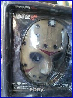RARE NECA Jason vs Freddy FVJ JASON Prop Replica Mask Friday the 13th Read