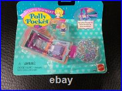 RARE POLLY POCKET 1996 Glitter Dreams Enchanted Storybook Locket NEW & SEALED