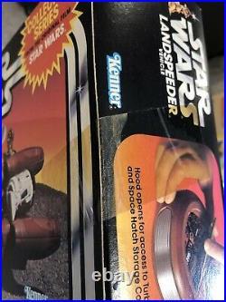 RARE Star Wars Vintage MISB Sealed Unopened Landspeeder Land Speeder AFA UKG