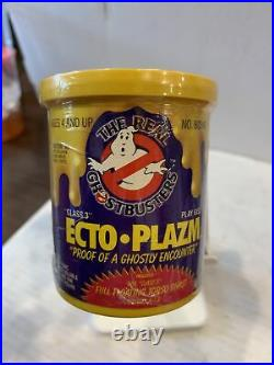 RARE Vintage Kenner The REAL Ghostbusters ECTO PLAZM Yellow Class 3 Sealed