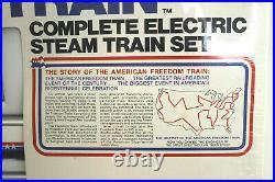 Rare 1976 Lionel HO Scale American Freedom Steam Train Set 5-2586 New Sealed Box