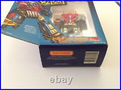 Rare! 1984 Voltron I 1 Miniature Warrior Space Robot Diecast Matchbox