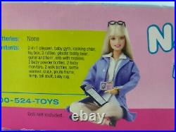Rare 2001 Barbie Krissy Nap n Play Nursery Playset New Factory Sealed Vintage