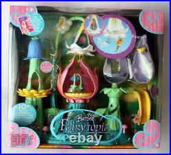 Rare 2004 Barbie Fairytopia Peony Flower House Playset Mattel New Sealed