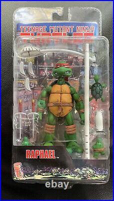 Rare 2008 NECA Teenage Mutant Ninja Turtles RAPHAEL New Sealed TMMT