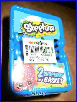 Rare 2013 SHOPKINS SEASON 1 30 blind baskets 60 Shopkins box complete sealed