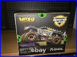 Rare Axial Max-D SMT10 RTR 1/10 Scale 4WD Monster Jam RC AX90057 FACTORY SEALED