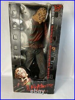 Rare McFarlane Toys Freddy Krueger A Nightmare on Elm Street Movie Maniacs