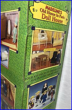 Rare NEW NIB NOS 2000 Eden Madeline's Old Doll House In Paris Sealed B000