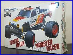 Rare New Sealed Kit Tamiya 1/10 R/C Toyota Hilux Monster Racer Collector Item