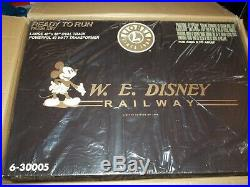Rare. W. E Disney Lionel Limited edition Railway 30005 FACTORY SEALED, Brand New
