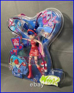 Rare Winx Musa of Winx Club 2004 Season 1 Doll Wings With DVD NRFB New Sealed