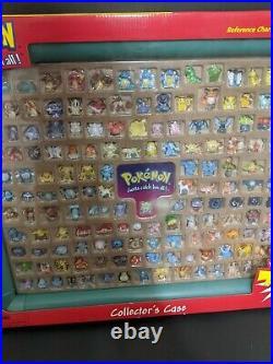 SEALED NEW Hasbro Pokemon Collectors Case 151 Figures VERY RARE BEAUTIFUL ITEM