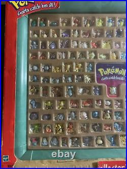SEALED NEW Hasbro Pokemon Collectors Case 151 Figures VERY RARE BEAUTIFUL ITEM