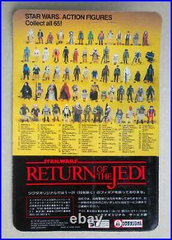 STAR WARS vintage Kenner MOC UNPUNCHED sealed Japan TSUKUDA ROTJ NIEN NUNB rare