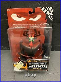 Samurai Jack Spin Attack Aku Cartoon Network 2001 (Rare) MOC sealed clean