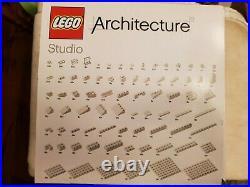 Sealed LEGO 21050 Architecture Studio 1210 pcs Rare Retired HTF