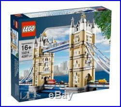 Sealed LEGO Creator Expert Tower Bridge 10214 Rare & Retired