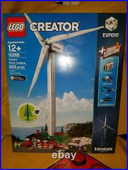 Sealed Lego Creator Expert 10268 Wind Turbine 826 Pieces Rare Retired Sold Out