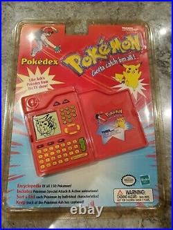 Sealed NEW Pokemon Pokedex Handheld 1999 Tiger Electronics Vintage Rare