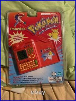 Sealed New Vintage 1999 Pokemon POKEDEX Encyclopedia Tiger Electronics RARE