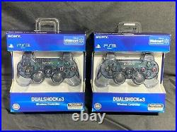 Slate Grey (Walmart Exclusive) DualShock 3 PS3 Controllers NEWithSEALED, RARE