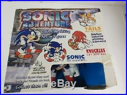 Sonic Adventure Sonic Talking Action Figure Toy Island 2000 NEW SEALED RARE