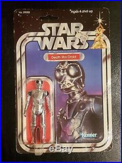 Star Wars Kenner 1979 Death Star Droid 21 Back Moc Sealed Rare Clear Bubble