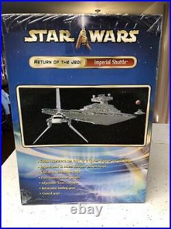 Star Wars Saga Imperial Shuttle ROTJ Factory Sealed NIB Rare FAO Schwarz Nice
